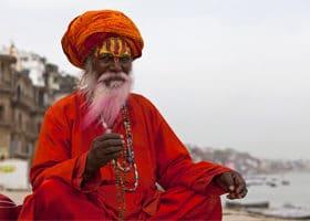 Heiliger Mann Indien