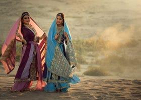 Frauen Iran Berberitze Rauchsalz