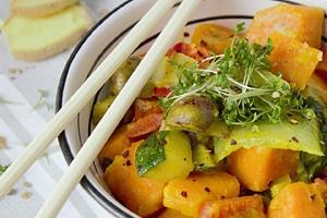 Curry mit frischem Ingwer