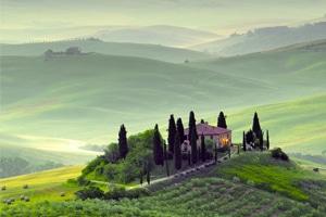 Landschaft Italien