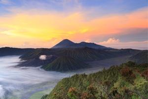 Indonesische Landschaft